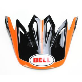 Bell Helmets Black/Orange Visor for Moto-9 Tracker Helmet - 8031072