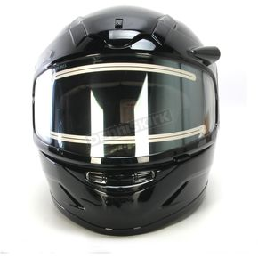 HJC Youth Black CL-YSN Helmet With Electric Shield - 1219-0105-55