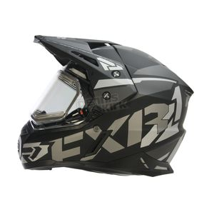FXR Racing Black Ops FX-1 Team Helmet w/Electric Shield - 170609-1010-07