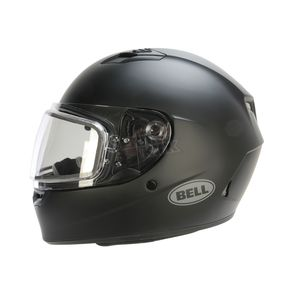 Bell Helmets Matte Black Qualifier Snow Helmet w/Dual Lens Shield  - 7076073