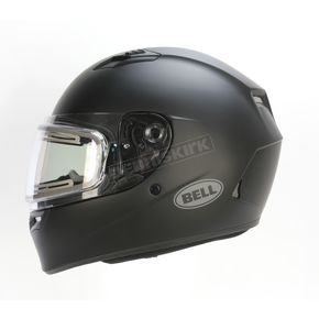 Bell Helmets Matte Black Qualifier Snow Helmet w/Electric Shield - 7076168