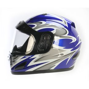 Raider Blue Full Face Helmet - 26-683B-16