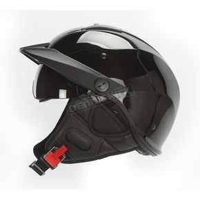 Gloss Black Rebellion Helmet - 590-1004