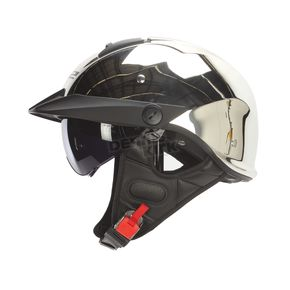 LS2 Chrome Rebellion Helmet - 590-1022