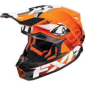 FXR Racing Orange Blade Race Division Helmet - 180605-3000-07
