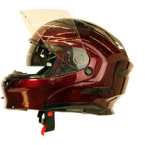 Wine Red MD01 Modular Helmet