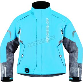 Arctiva Womens Sky Blue Comp 8 Jacket - 3121-0319