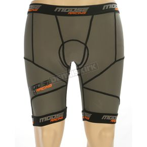 Moose Black XC1 Base Shorts - 2940-0254