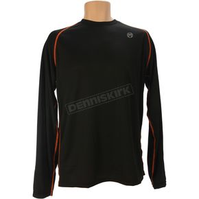 Moose Black XC1 Base Jersey - 2940-0262
