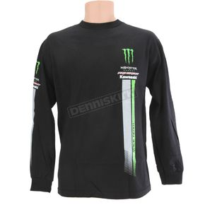 Pro Circuit Black Monster Long Sleeve Tee - 6411520-020
