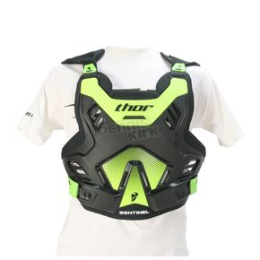 Thor Black/Green Sentinel GP Roost Guard - 2701-0756