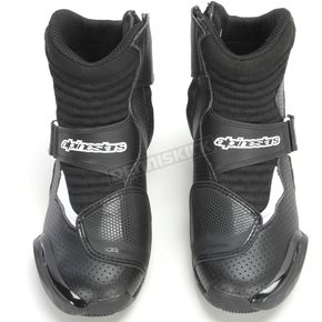 Alpinestars Black/White Vented SMX-1R Boot - 2224016-12-38