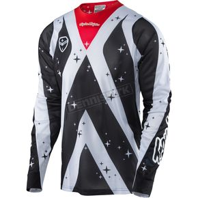Troy Lee Designs White/Black SE Air Phantom Jersey - 302124125
