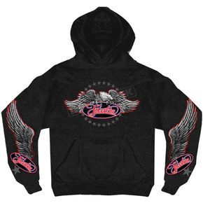 Hot Leathers Freedom Eagle Hoody - GMS4340M