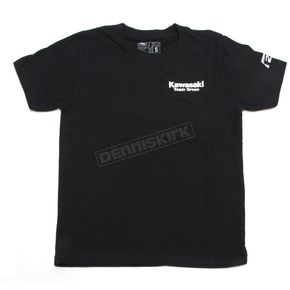 Factory Effex Youth Black Team Kawasaki T-Shirt - 19-83110