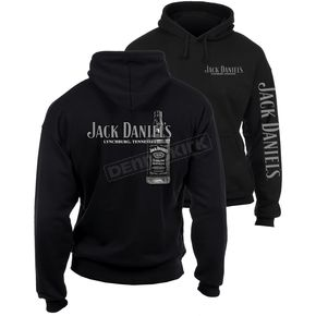 Jack Daniels Black Bottle Hoody - 15261476JD-89-L