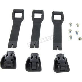 Adult Black  M1.3 Short Strap and Buckle Kit - 3430-0844