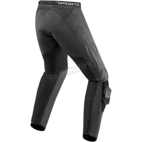 Black Hypersport2 Pants - 2811-0589