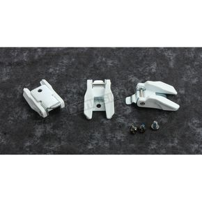 White Radial Boot Buckle Kit - 3430-0883