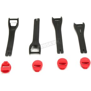 Womens Red Blitz XP Boot Strap Kit - 3430-0881