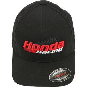 Black Honda Racing Fitted Hat