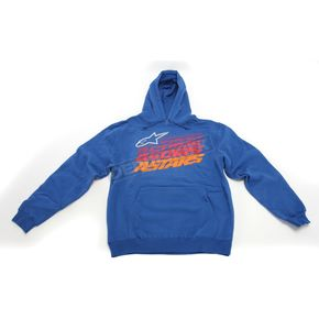 Alpinestars Blue Hashed Hoody - 10165200179M
