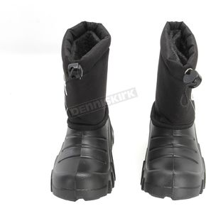 FXR Racing Youth Black Shredder Boot - 170702-1000-34
