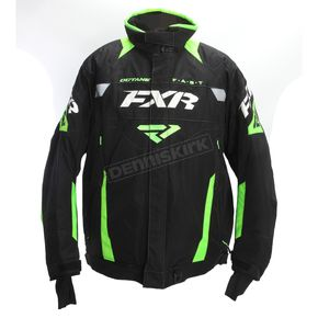 FXR Racing Black/Lime Octane Jacket - 170006-1070-10