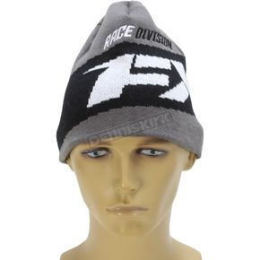 FXR Racing Charcoal Podium Beanie - 171615-0800-00