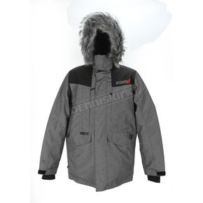 FXR Racing Charcoal/Black Svalbard Parka - 170022-0810-16