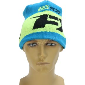 FXR Racing Process Blue.Hi-Vis Podium Beanie - 171615-4065-00
