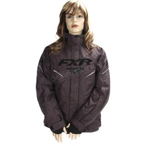 FXR Racing Women's Black Heather Team Jacket - 170208-1100-16