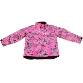 HJC Youth Pink Camo Storm Jacket - 1621-192