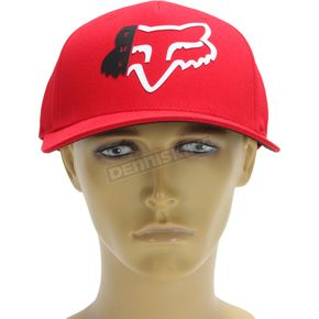 Fox Red Zerio FlexFit Hat - 19567-003-L/XL