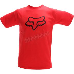 Fox Scarlet Legacy Fox Head T-Shirt - 14222-371-S
