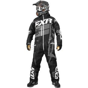 FXR Racing Black/Charcoal Boost Lite Monosuit - 182817-1008-13