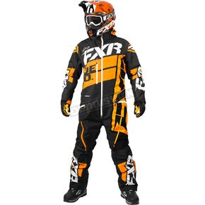 FXR Racing Black/Orange Boost Lite Monosuit - 182817-1030-22