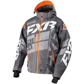FXR Racing Charcoal/Gray/Orange Boost X Jacket - 180029-0805-07