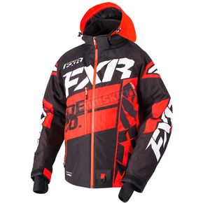 FXR Racing Black/Red/White Boost X Jacket - 180029-1020-07