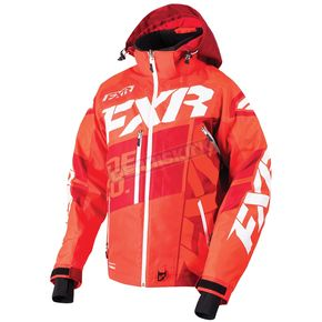 FXR Racing Nuke Red/Maroon/White Boost X Jacket - 180029-2325-16