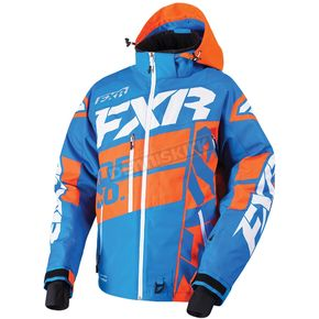 FXR Racing Blue/Orange/White Boost X Jacket - 180029-4030-10