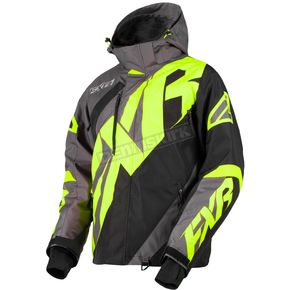 FXR Racing Charcoal/Black/Hi-Vis CX Jacket - 180020-0865-19