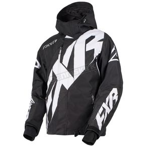 FXR Racing Black/White CX Jacket - 180020-1001-10