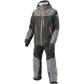 FXR Racing Charcoal/Gray/Orange Elevation Dry-Link 2 pc. Lite Monosuit - 182803-0805-19