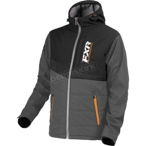 FXR Racing Charcoal/Black Evolution Jacket - 170923-0610-16