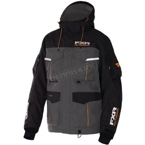 FXR Racing Charcoal/Black Excursion Jacket - 170013-0810-10