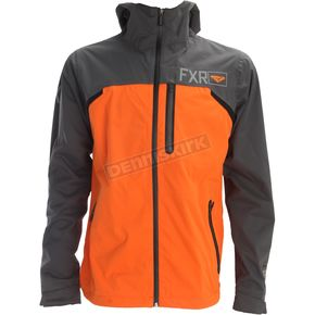 FXR Racing Charcoal/Orange Force Dual.5 Laminate Jacket - 172000-0830-19