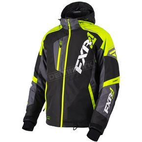 FXR Racing Black/Hi-Vis/Charcoal Mission FX Jacket - 180031-1065-25