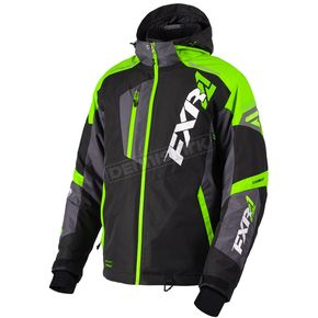 FXR Racing Black/Lime/Charcoal Mission FX Jacket - 180031-1070-22