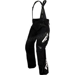 FXR Racing Black Mission FX Pants - 180109-1001-19